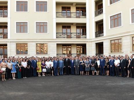 Совет прессы поблагодарил Президента Ильхама Алиева за дом для журналистов
