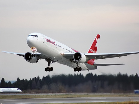 Российская авиакомпания Nordwind начала летать из Красноярска в Баку и обратно