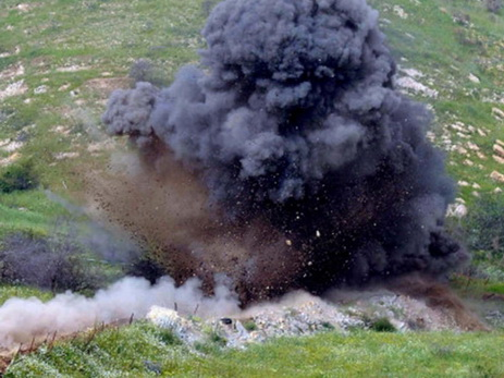 На оккупированных территориях подорвался армянский грузовик
