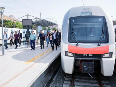 Вносятся изменения в график движения электричек Баку-Сумгайыт-Баку