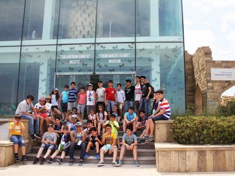 Завершился «Летний лагерь», организованный Университетом АДА и ОАО «Чистый город»