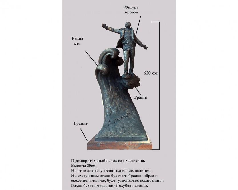 В центре Киева будет воздвигнут памятник Муслиму Магомаеву