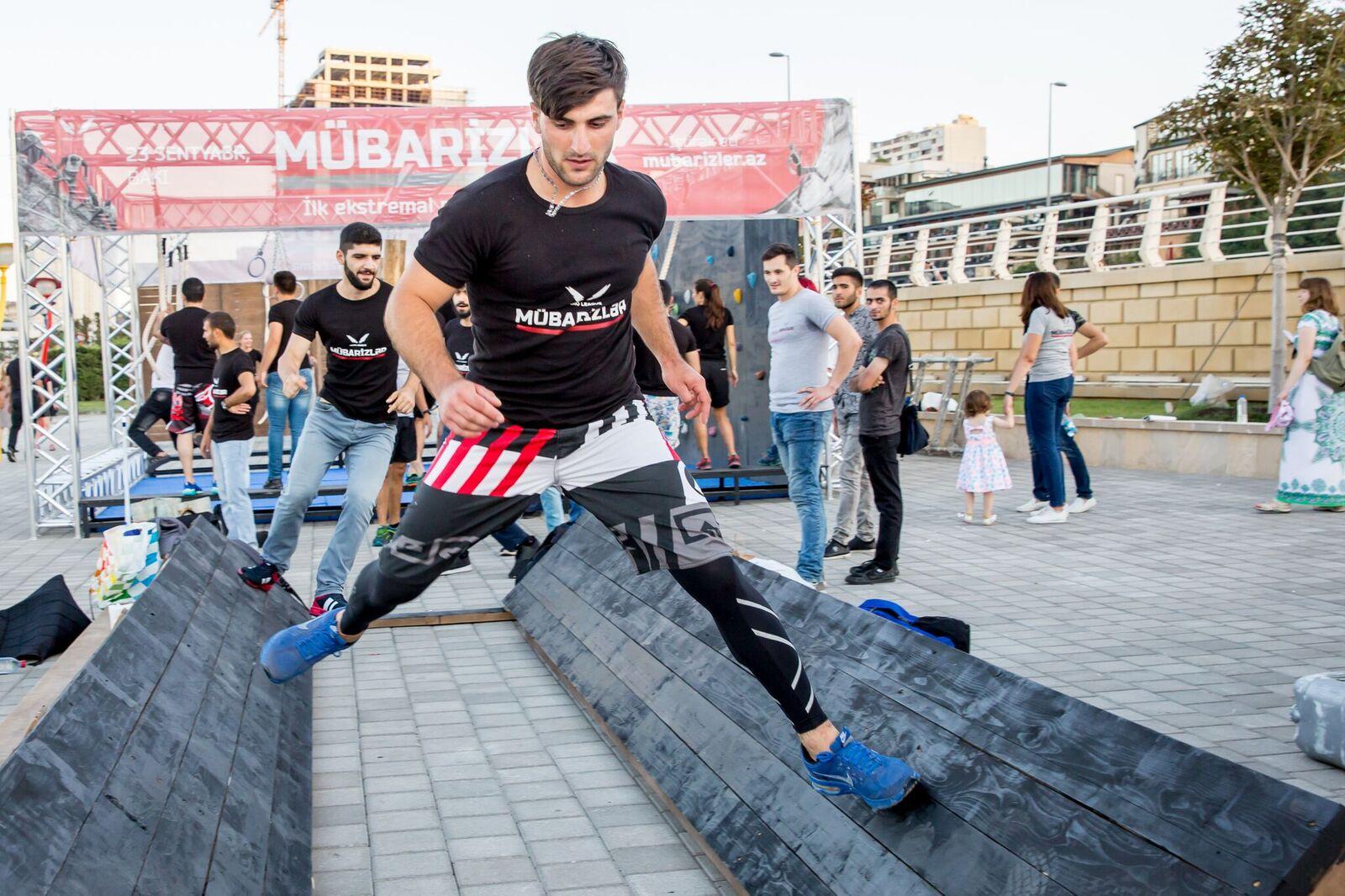 Экстрим в самом центре Баку – ФОТО – ВИДЕО