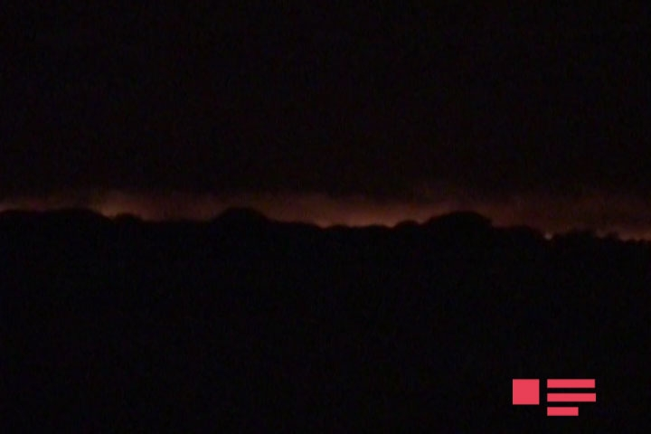 Армяне подожгли оккупированные территории Агдамского района — ФОТО