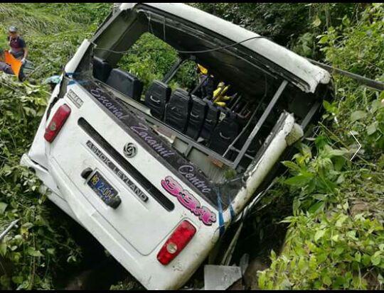 Семь человек погибли при падении автобуса в овраг в Сальвадоре