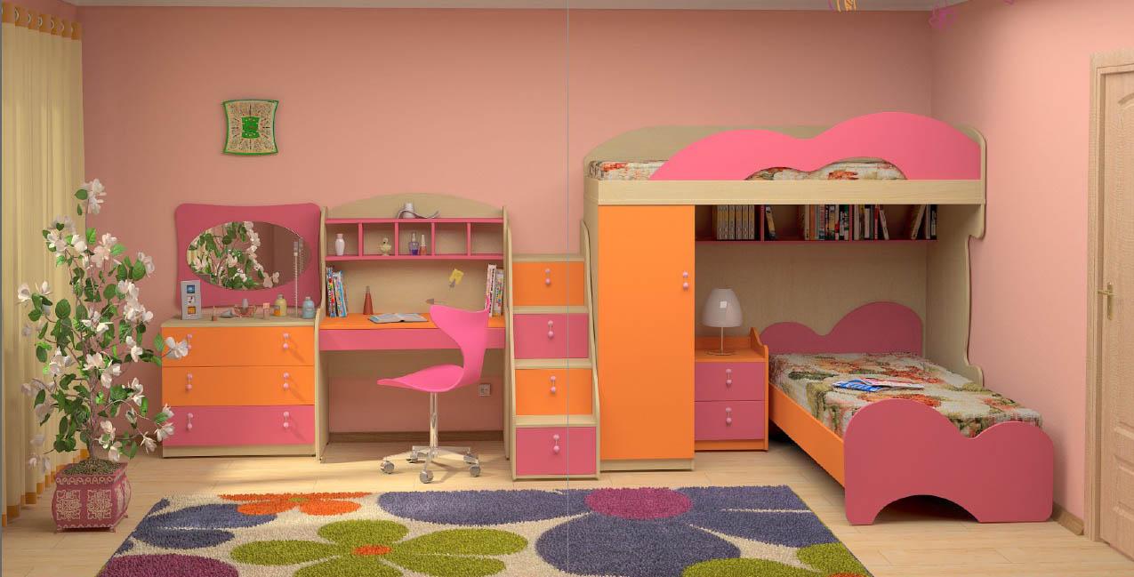 Наборы детской мебели на любой цвет, рост и возраст