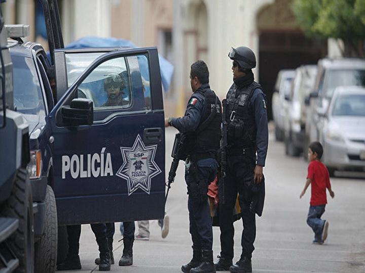 В перестрелке в Мексике пострадали семь человек
