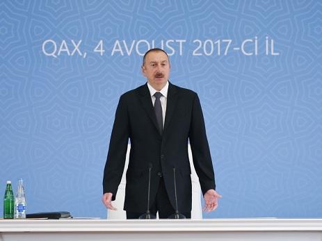 Ильхам Алиев: «За первые 6 месяцев этого года в Азербайджан вложены инвестиции в размере 5 млрд долларов»