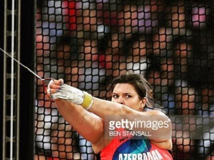 Азербайджанская легкоатлетка заняла пятое место на чемпионате мира в Лондоне