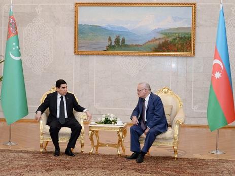 Обсуждены перспективы развития азербайджано-туркменских отношений - ФОТО