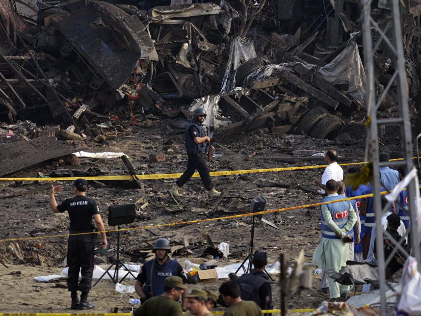 Число погибших при взрыве в Пакистане возросло до 15 человек — ОБНОВЛЕНО
