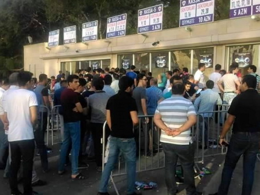 «Карабах» продал 20 тысяч билетов на матч с «Копенгагеном»