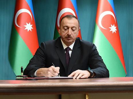 Президент Азербайджана присвоил военнослужащим и гражданским работникам Госпогранслужбы почетные звания
