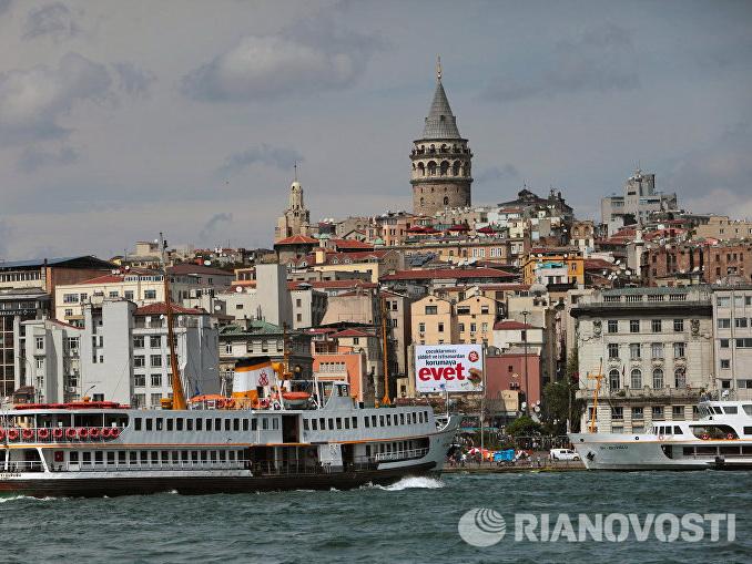 В Турции спасли румынского исследователя, пытавшегося доплыть до России