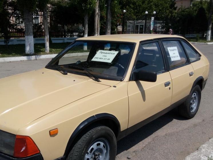 Дорожная полиция начнет штрафовать за надписи «Продается» на машинах