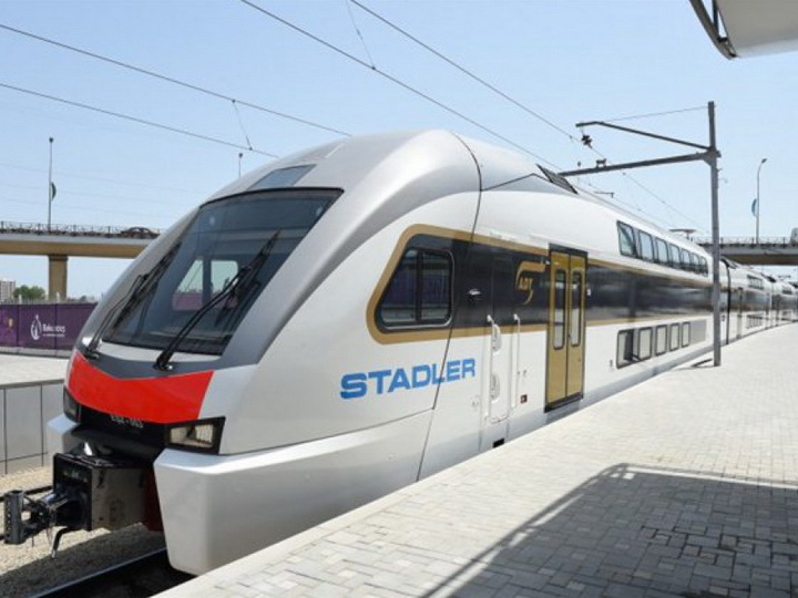 Внесены изменения в график движения электропоездов Баку-Сумгайыт-Баку