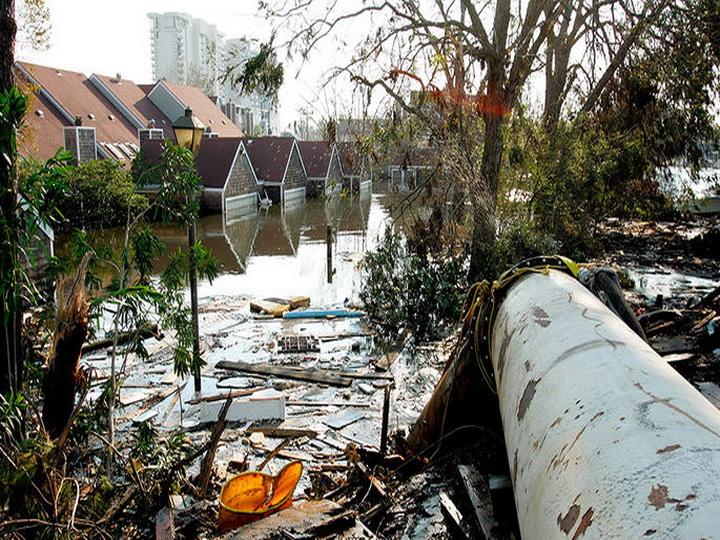 Ураган «Харви» приближается к побережью Техаса