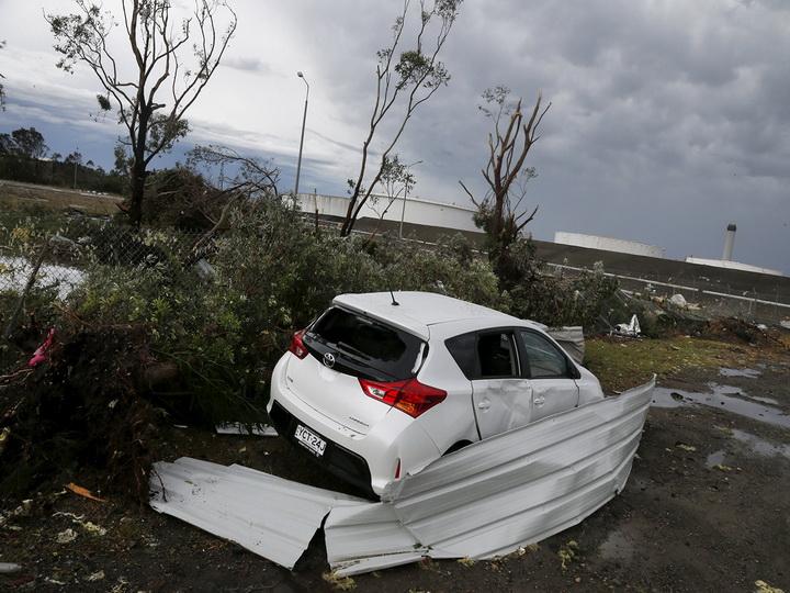 Мощный ураган «Харви» достиг побережья Техаса