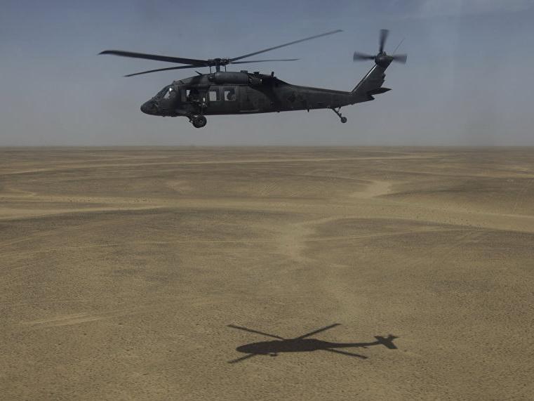 У берегов Йемена потерпел крушение американский вертолет