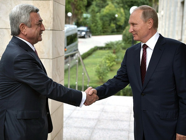 «Путин на встрече с Саргсяном мог предложить ему предметно рассмотреть вопрос деоккупации»