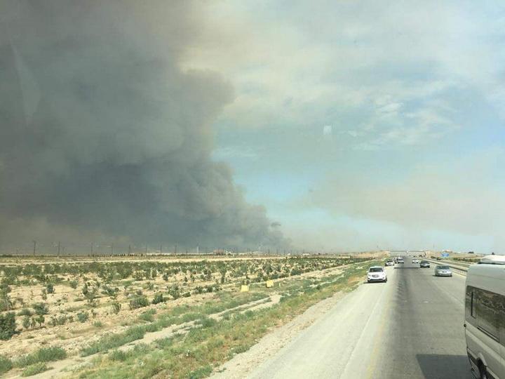 Минобороны: В связи с пожаром в воинской части эвакуировано несколько населенных пунктов — ФОТО — ВИДЕО — ОБНОВЛЕНО