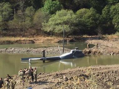 В Грузии потерпел крушение вертолет: азербайджанские спасатели первыми пришли на помощь - ФОТО - ВИДЕО