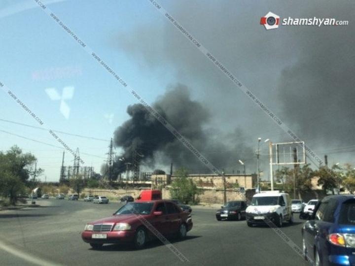 Более 100 спасателей участвуют в тушении пожара на химзаводе в Ереване - ФОТО - ВИДЕО - ОБНОВЛЕНО
