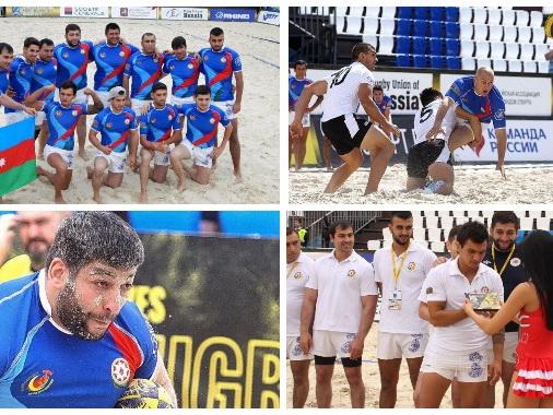 Пляжное регби в Азербайджане! Новый спорт, новые перспективы и возможности – ФОТО – ВИДЕО
