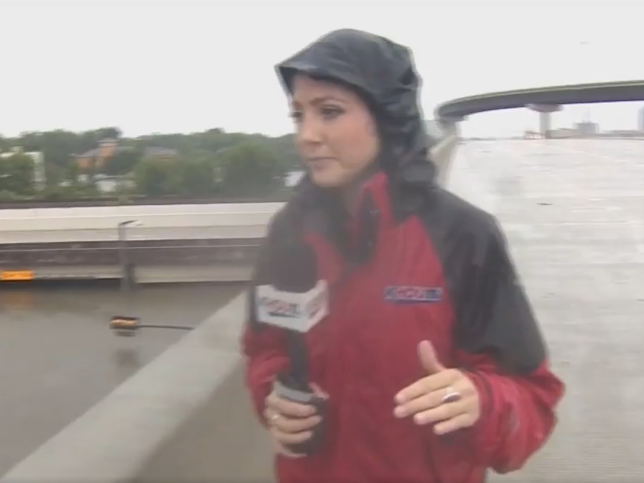 Журналистка спасла жизнь дальнобойщику во время эфира – ВИДЕО