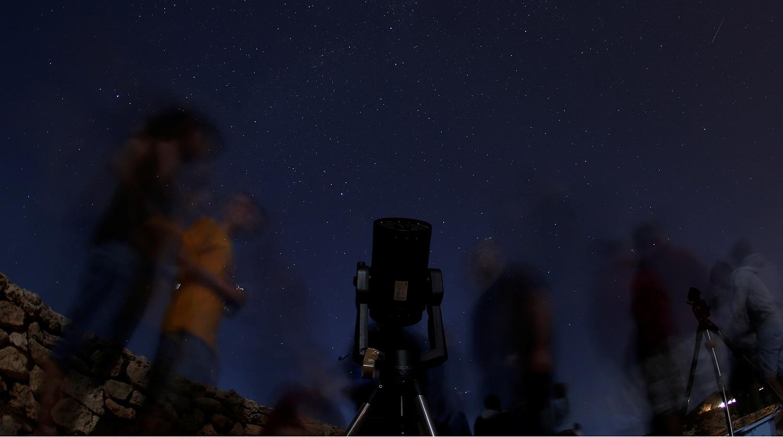 Самый яркий звездопад года - ФОТО