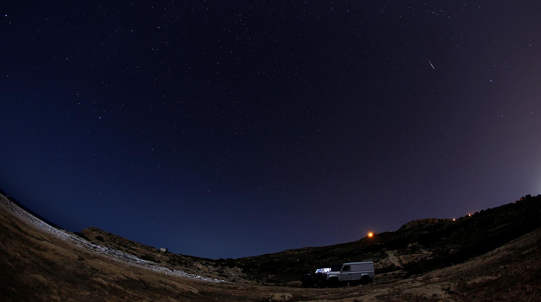 Самый яркий звездопад года — ФОТО