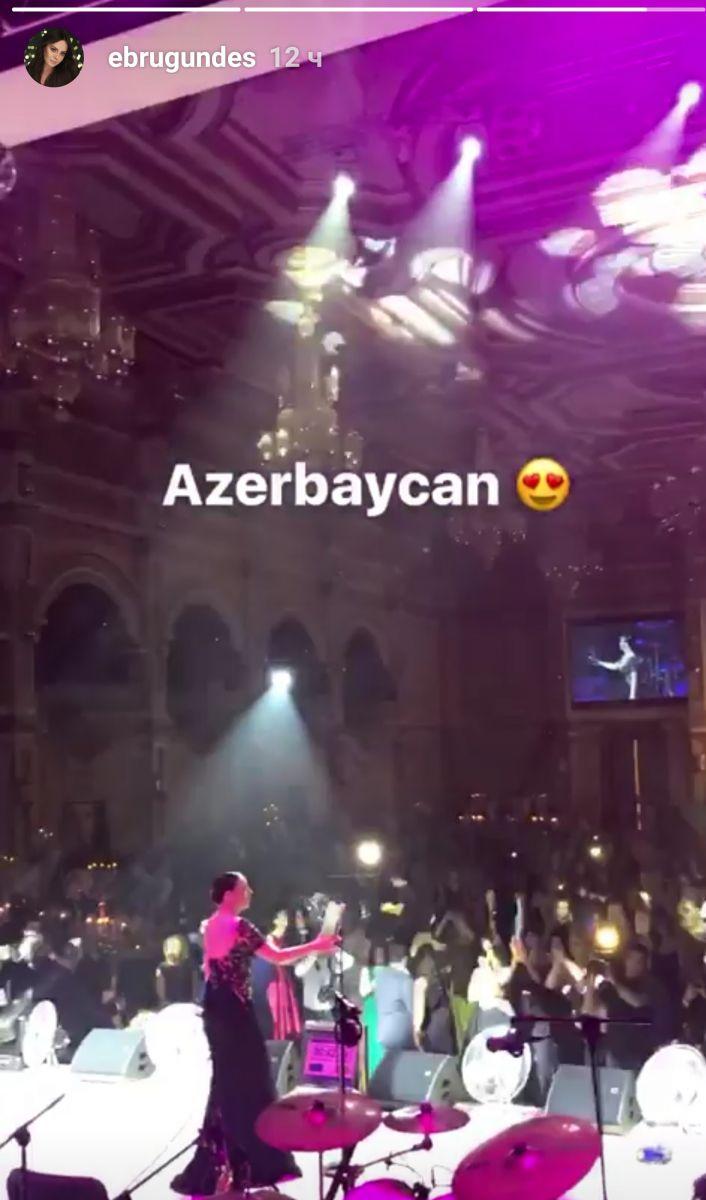 Эбру Гюндеш посетила Баку – ФОТО