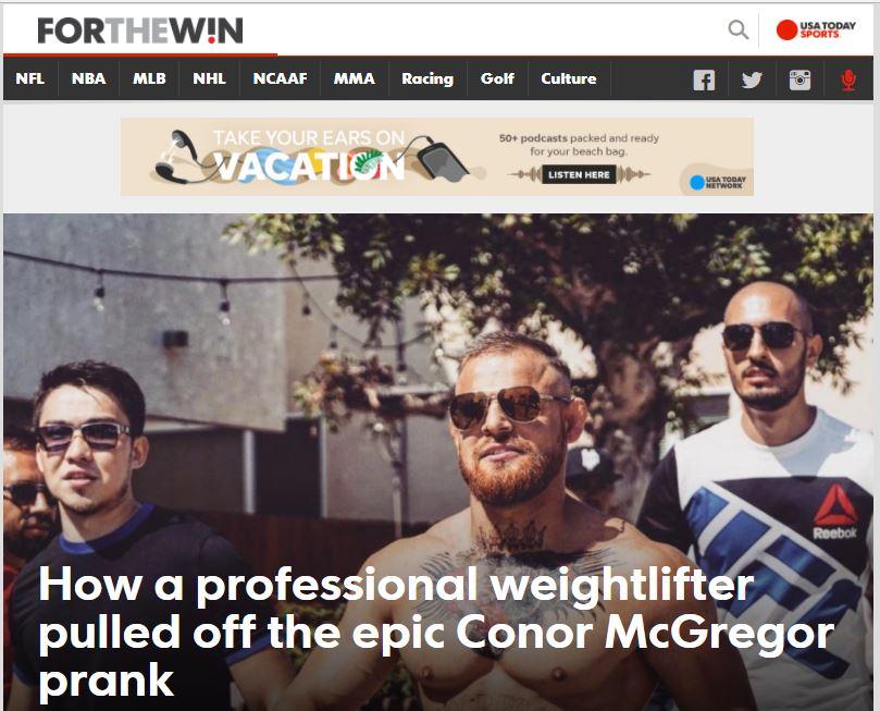 О двойнике Конора МакГрегора, или Том, как азербайджанец с чеченцем разыграли всю Америку – ФОТО – ВИДЕО