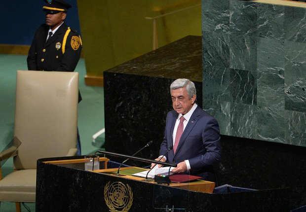 Фархад Мамедов: «Выступление в ООН показало всю двуличность Саргсяна»
