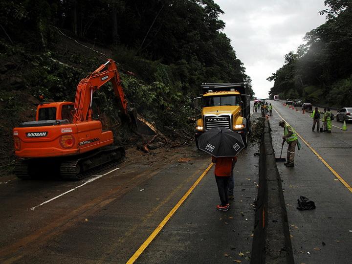 В Мексике четыре человека стали жертвами шторма «Лидия»