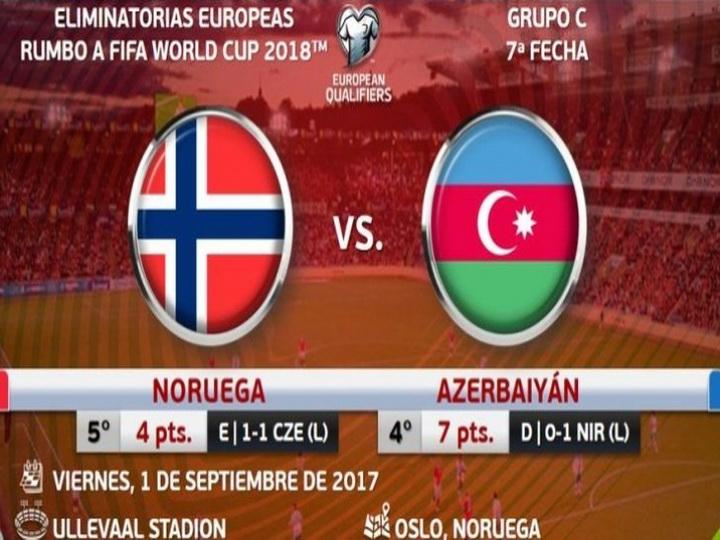 Сборная Азербайджана начала матч в гостях у Норвегии – ОБНОВЛЯЕТСЯ