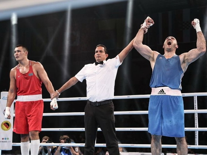 Магомедрасул Меджидов вошел в историю азербайджанского бокса – ФОТО – ВИДЕО