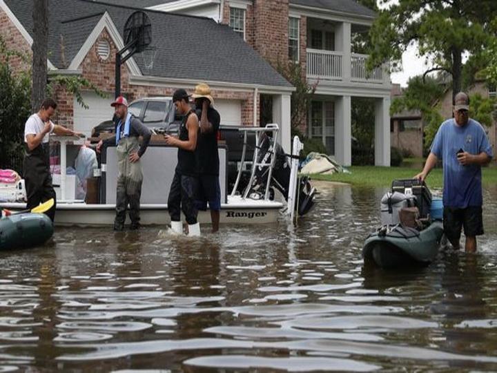 Ущерб от урагана «Харви» в Техасе оценили в 180 млрд долларов