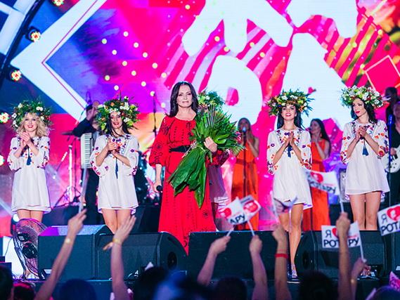 Бакинский юбилейный концерт Софии Ротару на Первом российском канале – ВИДЕО