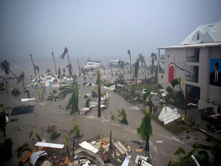 На острове Сен-Мартен из-за урагана «Ирма» погибли два человека, 43 ранены