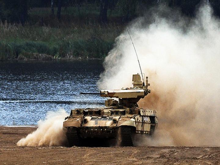 Боевую машину поддержки танков «Терминатор» испытали в Сирии