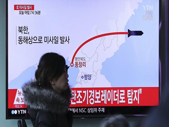 Американская разведка засекла подготовку к ракетному пуску в КНДР
