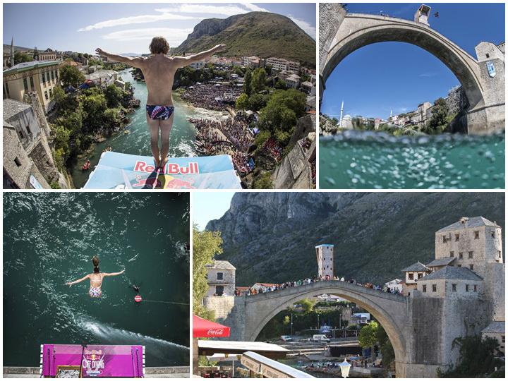 Мостарское шоу. Как лучшие дайверы мира совершали сумасшедшие прыжки в воду – ФОТО — ВИДЕО
