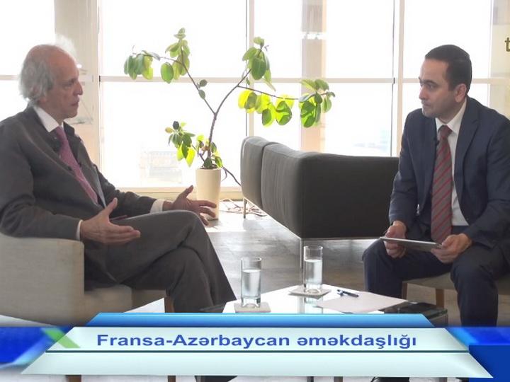 Гендиректор министерства Франции стал гостем программы Təməl – ВИДЕО