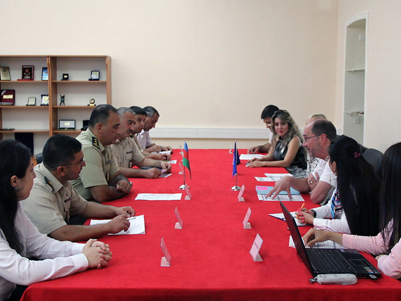 В Военной академии ВС Азербайджана проходят встречи экспертов по образованию НАТО - ФОТО