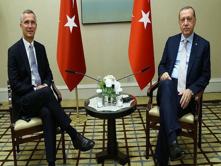 В Нью-Йорке состоялась встреча между президентом Турции и генсеком НАТО