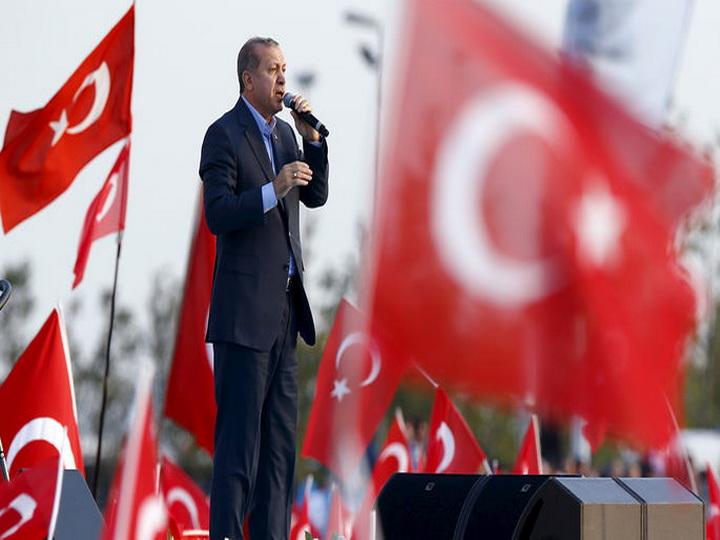 Эрдоган назвал курдов друзьями Турции