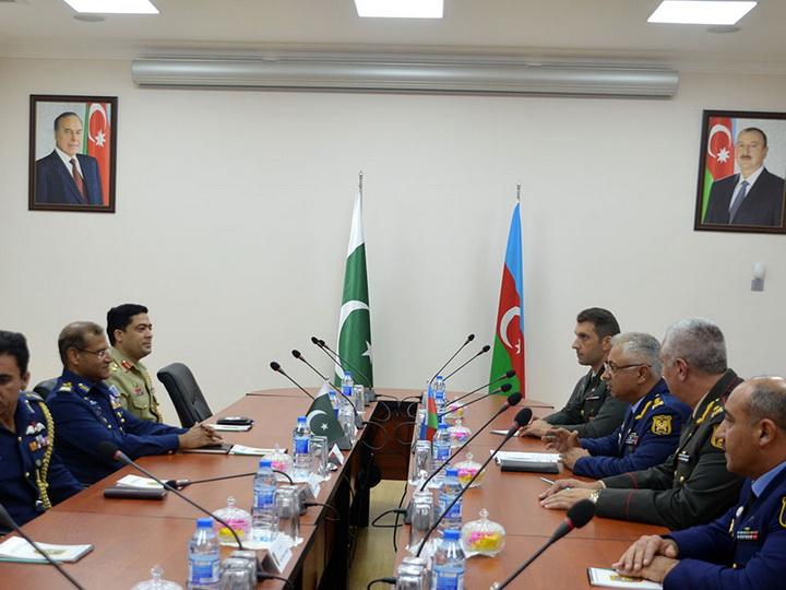 В Азербайджане находится делегация ВВС Пакистана – ФОТО