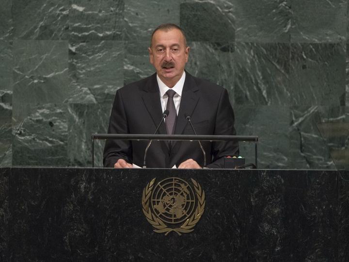 Ильхам Алиев: «В отличие от Армении, Азербайджан – многонациональная страна, культурное, этническое и религиозное разнообразие общества – наше большое достояние»