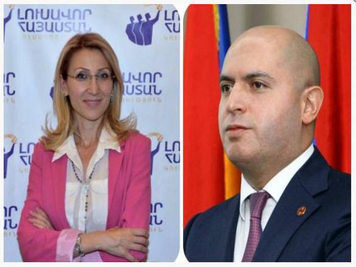 Армянские депутаты прибыли в Баку